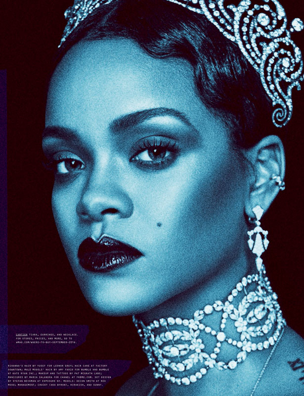 rihanna-w-magazine-cover dark queen 2