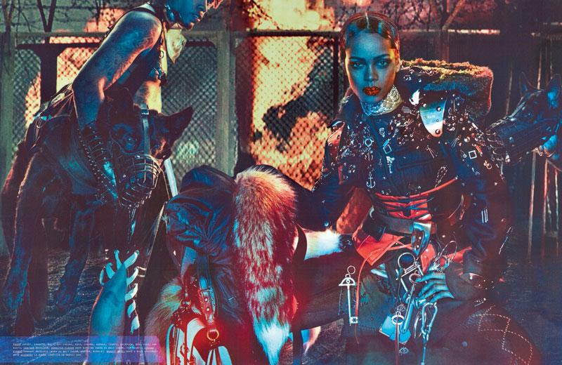 rihanna-w-magazine-cover dark queen 5