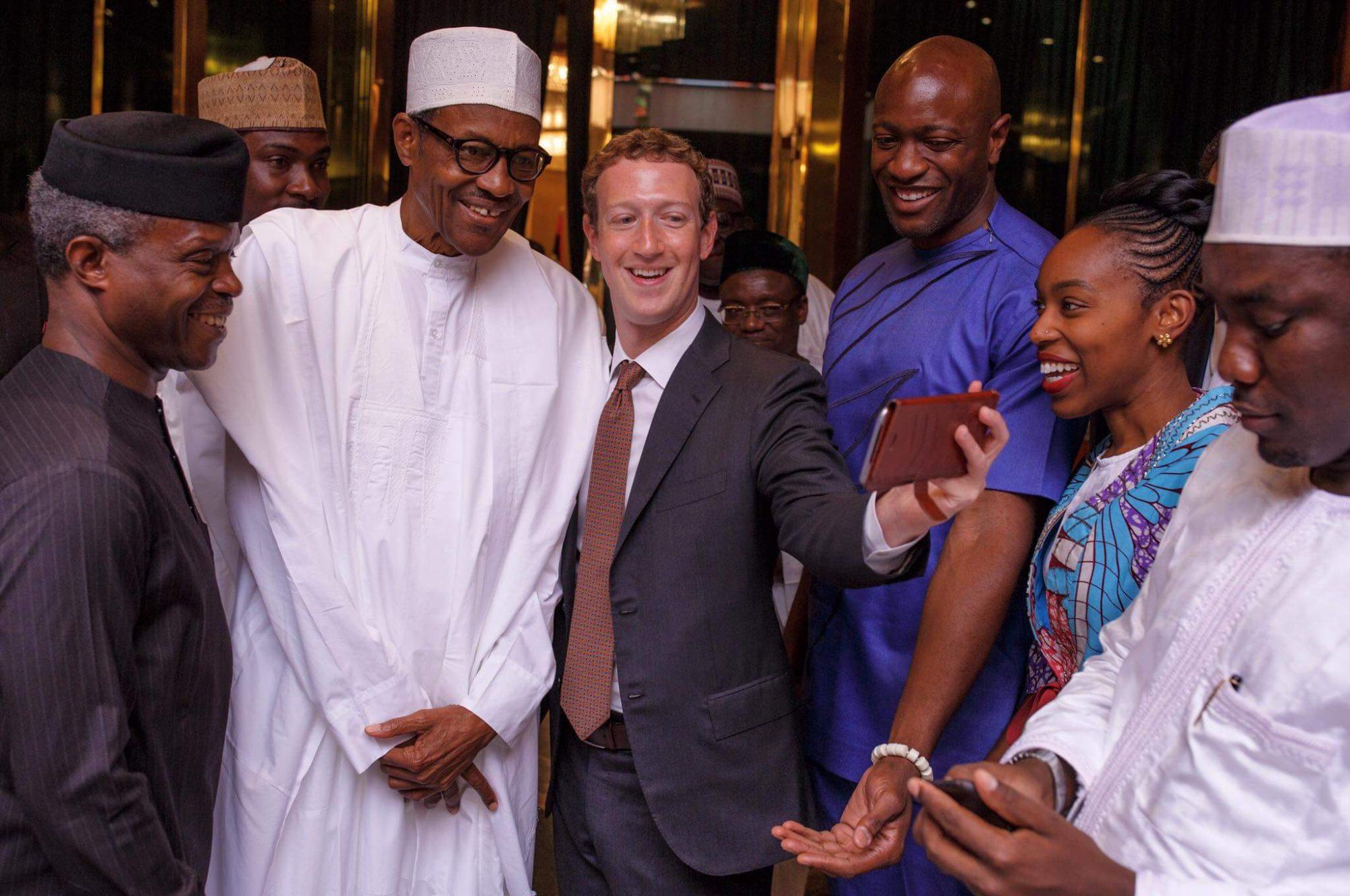 Mark Zuckerberg & President Buhari