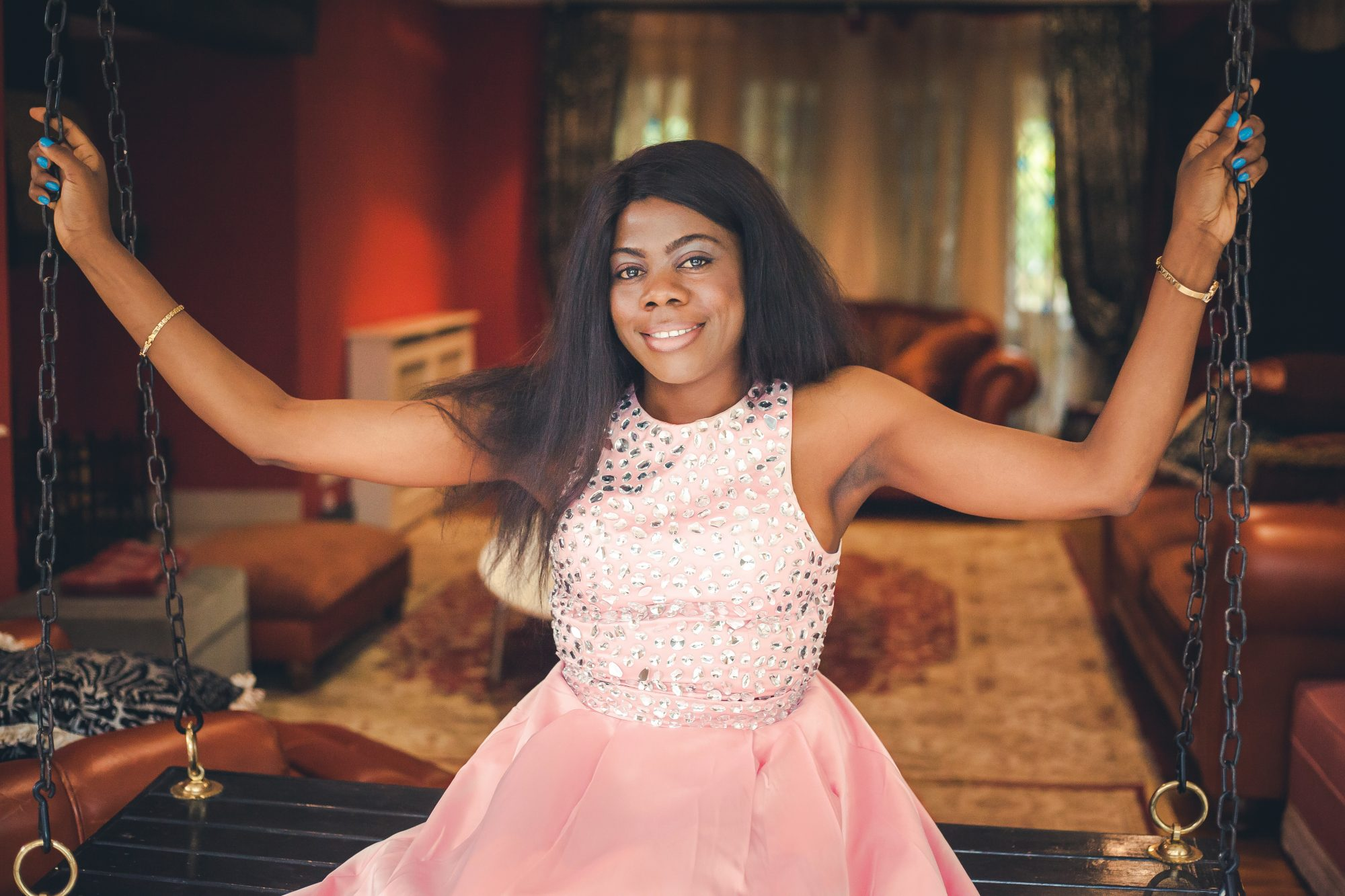 BREAST CANCER CAMPAIGN BY MAMMYPI FASHION BLOG- (PINK DRESS)