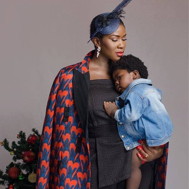 Stephanie Okereke Shares Adorable New Pictures With Son For #MotherhoodInStyle