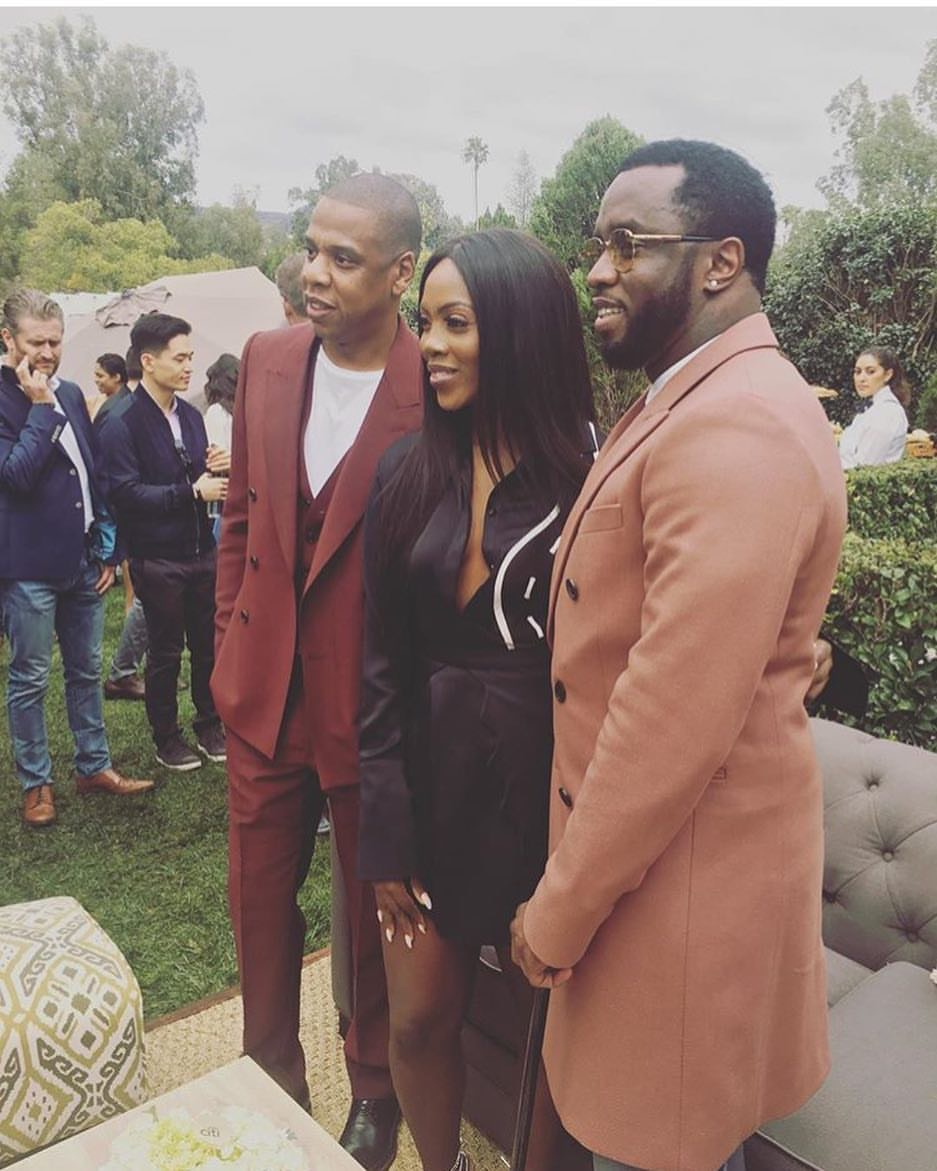 TIWA SAVAGE JOINS DIDDY AND JAY Z AT ROC NATION'S GRAMMY BRUNCH