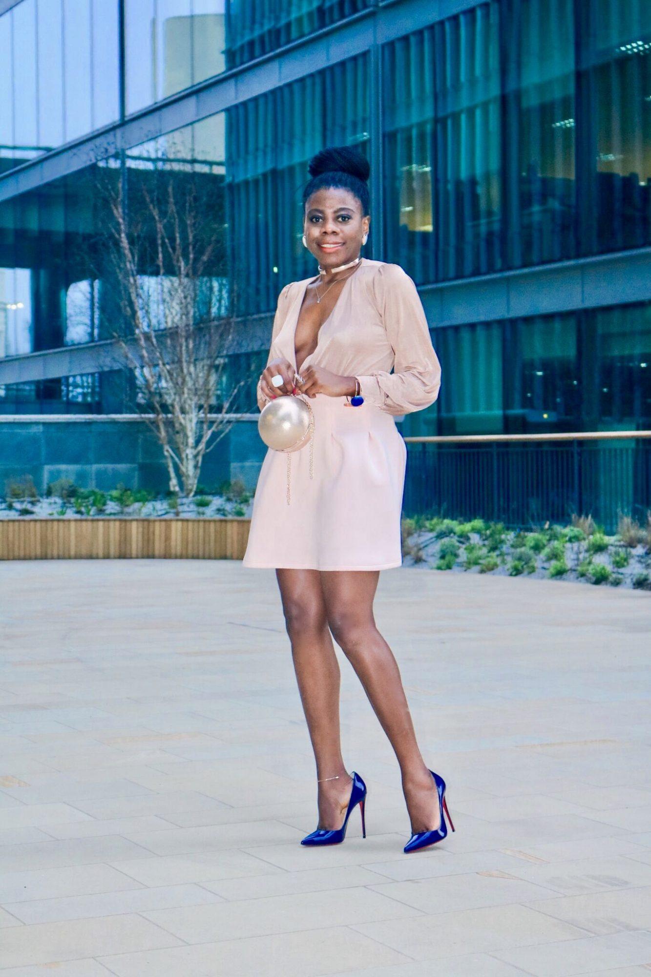Nigerian fashion blogger Keela Harrison