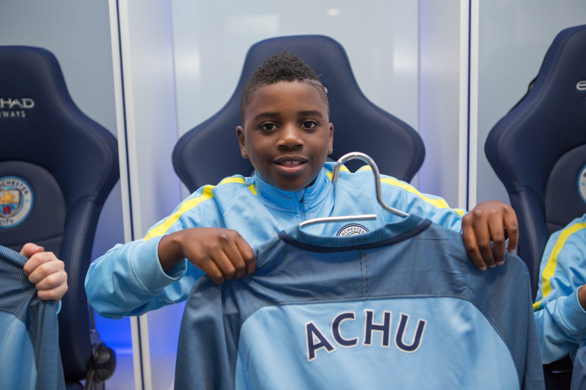 British Born Cameroonian Tristan Achu