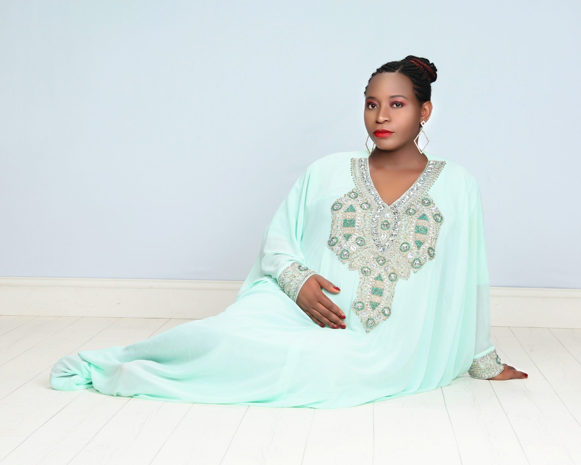 Exclusive: Myra Maimoh Glows In Stunning New Maternity Pictures