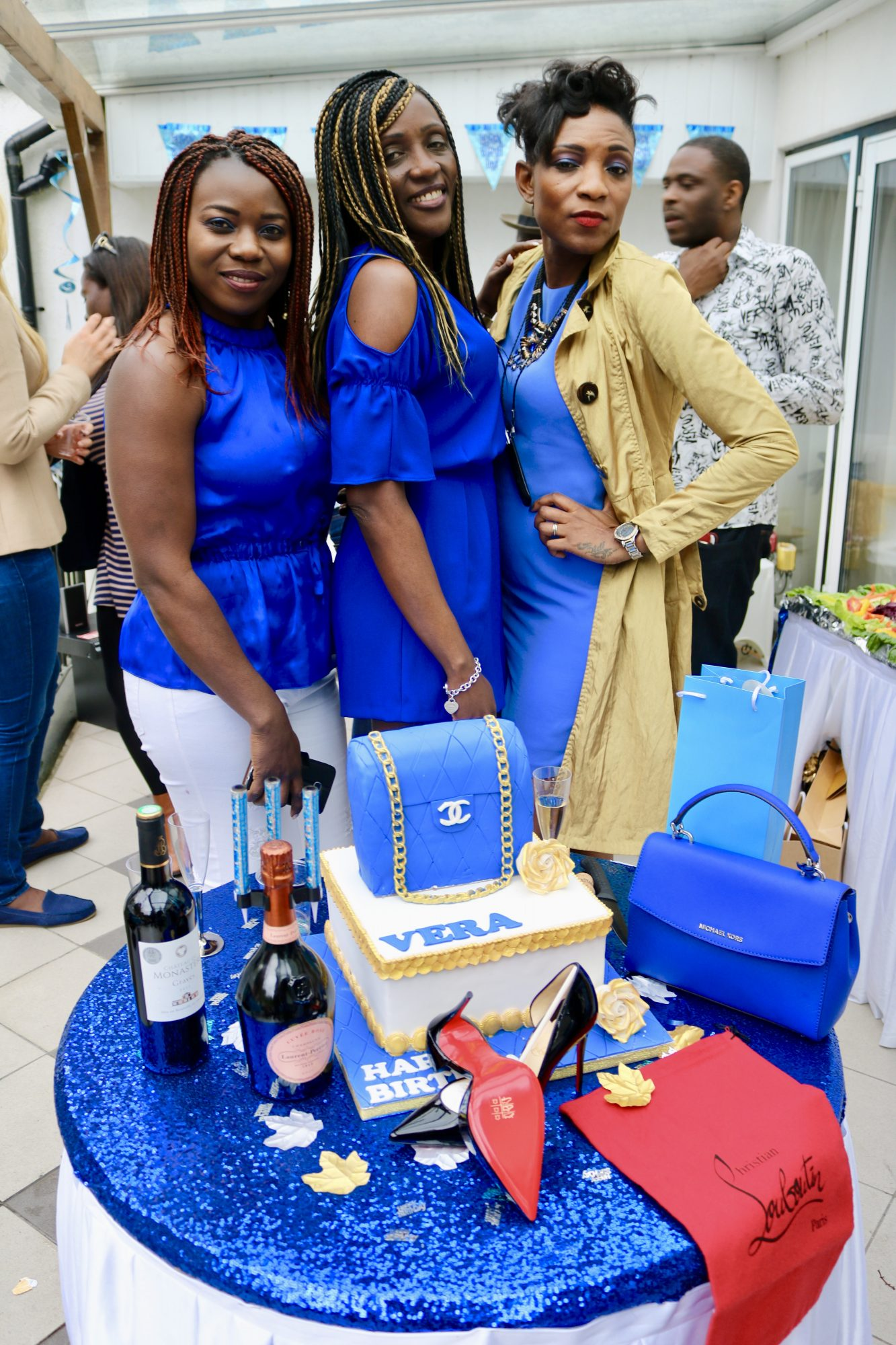 SURPRISED BIRTHDAY PARTY FOR VERA CRIGHTON WITH NSE IKPE
