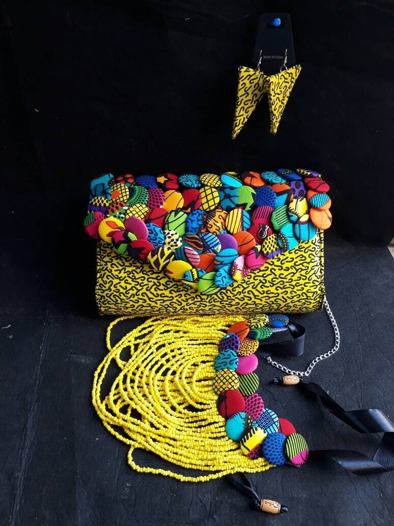 Forget Chanel. These 7 African Print Accessories Are In Trend