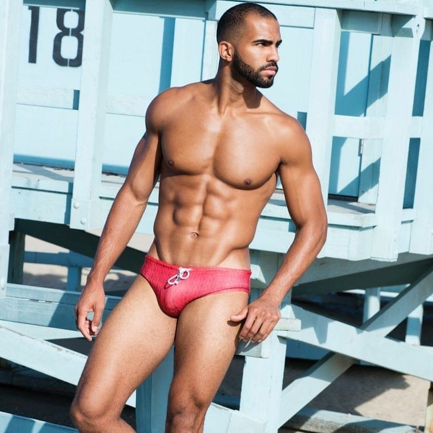 FIVE TOPLESS PHOTOS OF PIERRE ABENA WE LOVE