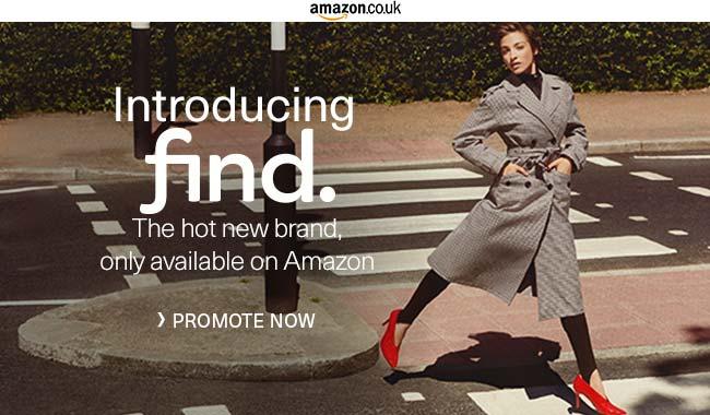 Amazon Quietly Debuts #FIND