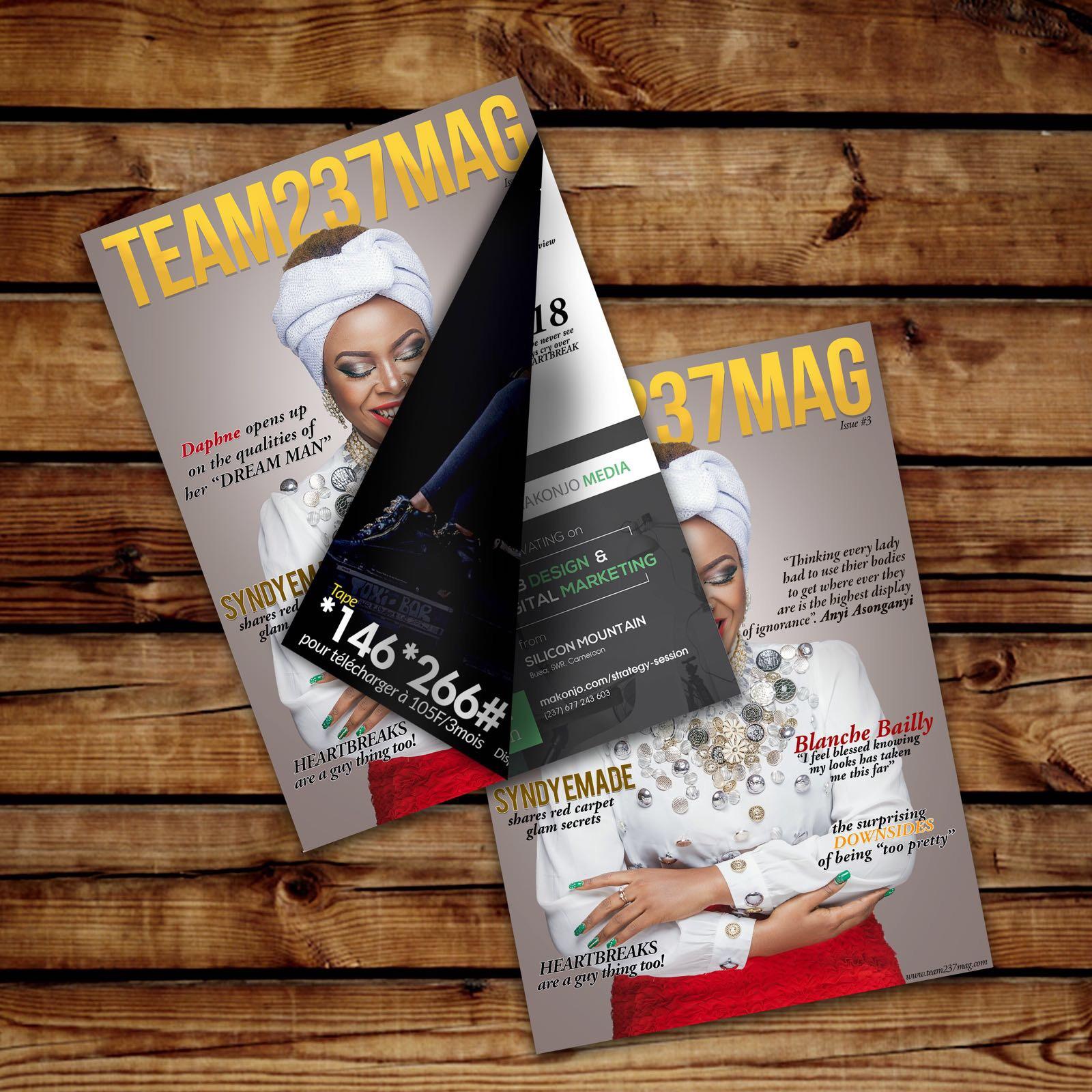 #Team237Mag, #AnyiAsonganyi, #Cameroon, #Magazine