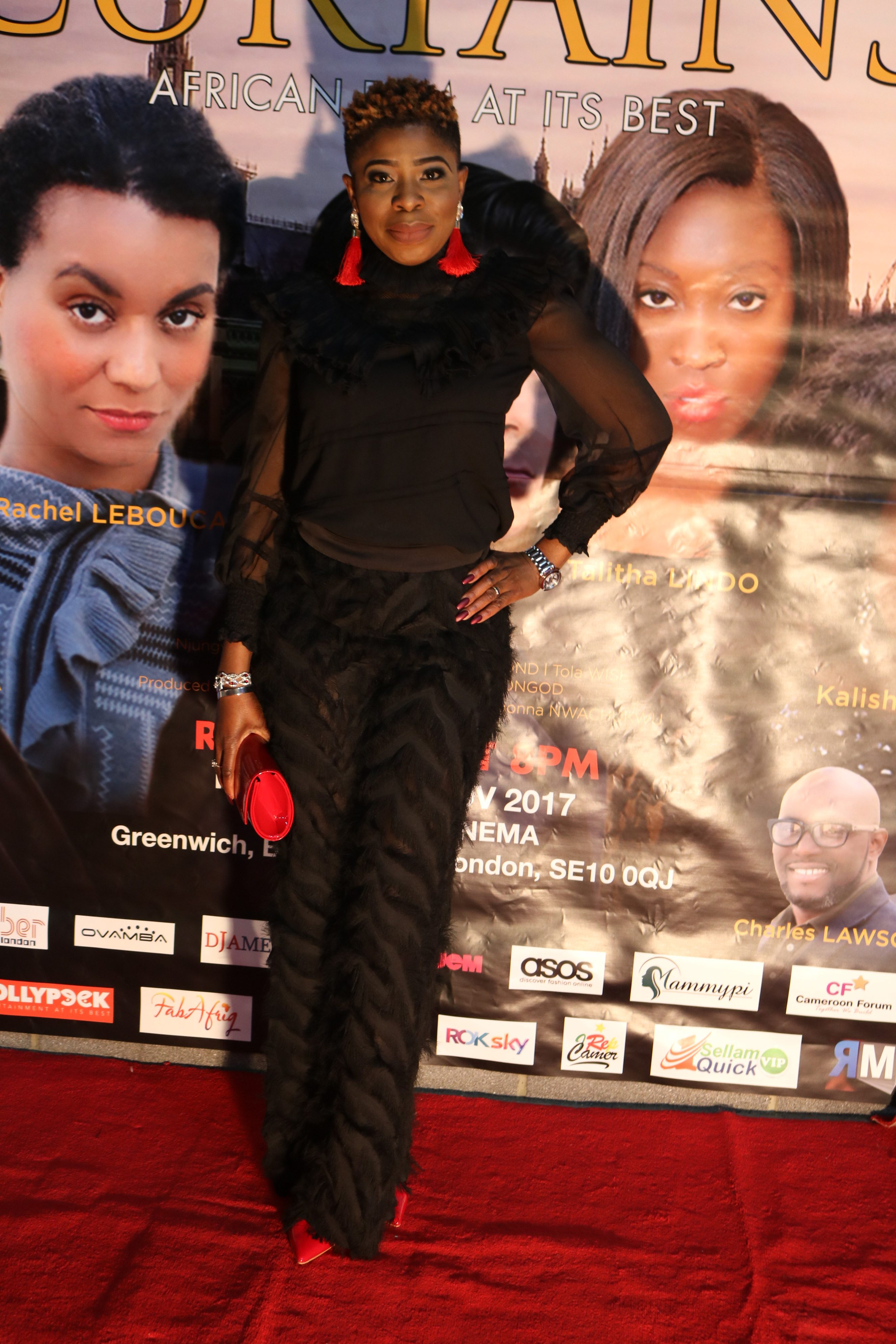 Curtains 2017 Red Carpet: All The Black Outfits