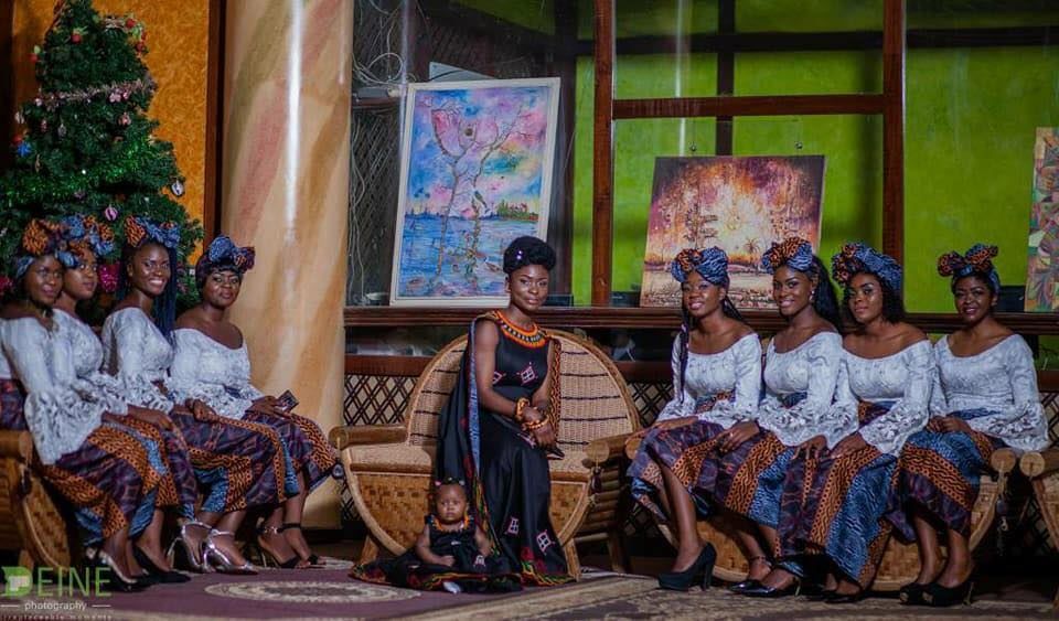 First Photos From Divine Polyvalent's Toghu Themed Wedding Shoot