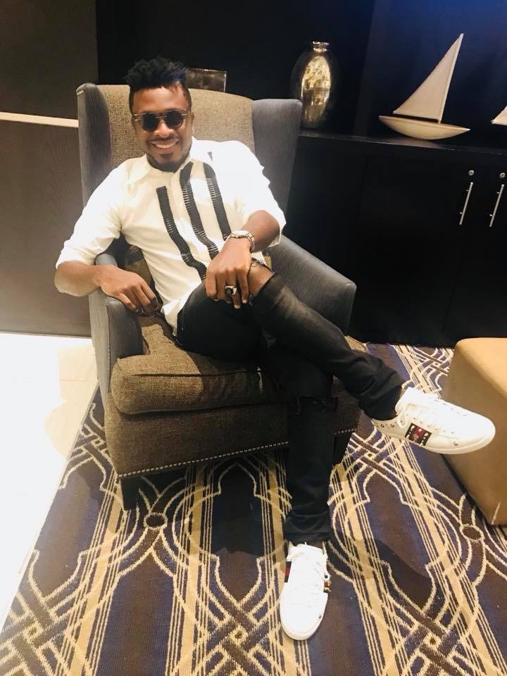 Tzy Panchak Flaunts Gucci Bee And Star Sneakers