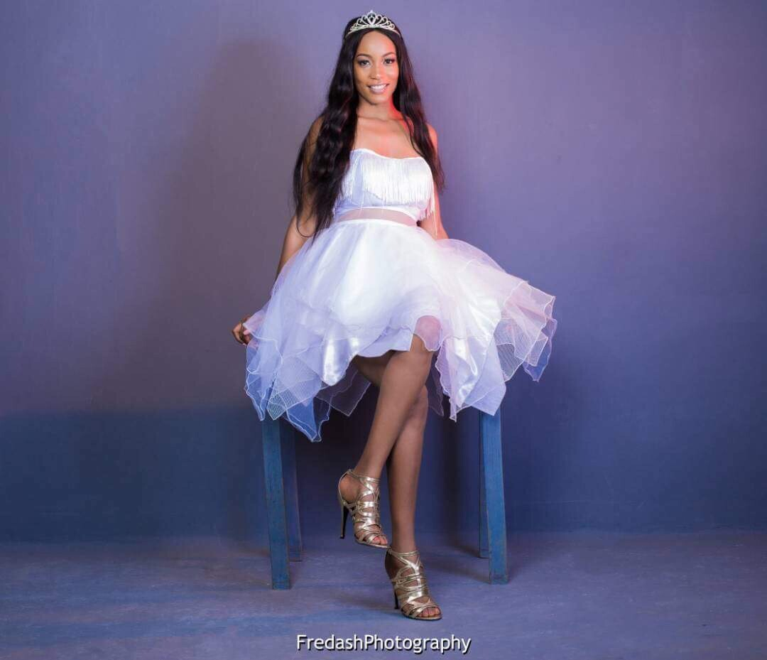 Model Stephanie Yimga Celebrates Birthday In Egyptian Theme Shoot
