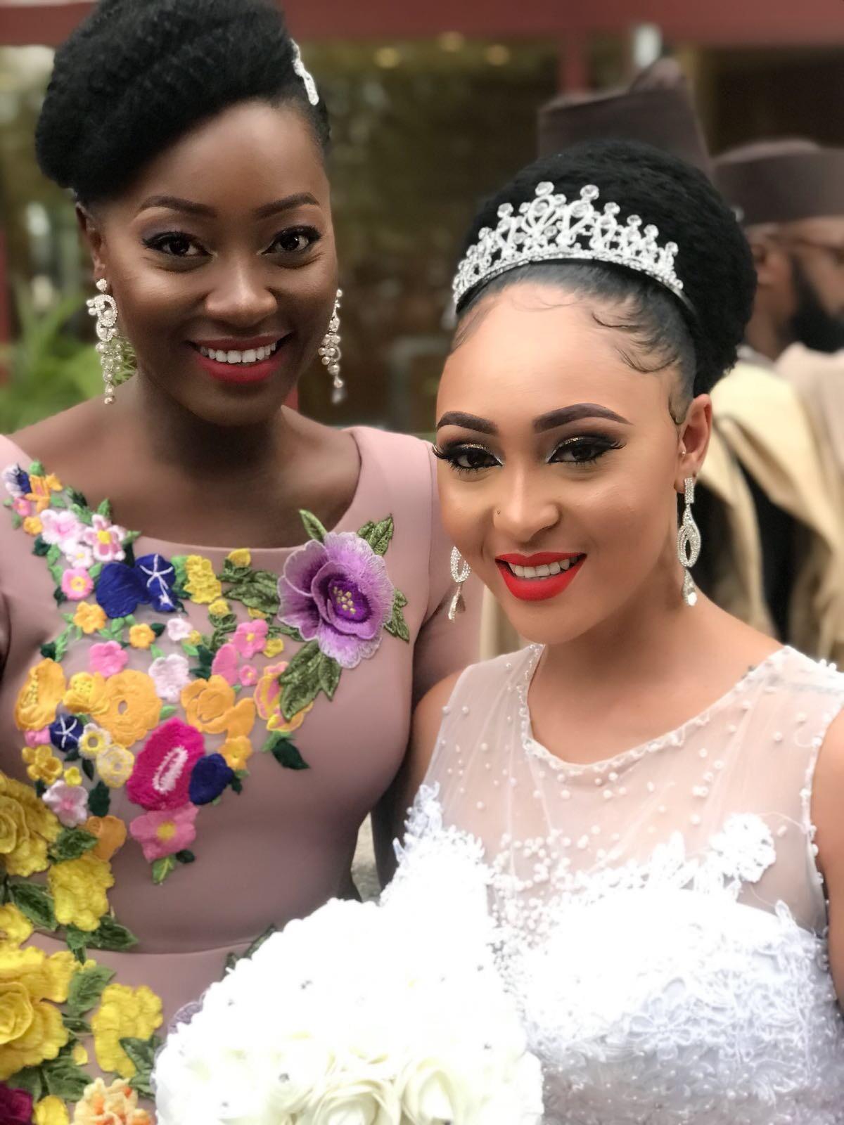 Former Miss Cameroon USA Turned Actress Nora Ndem Looks A Billion Bucks On Wedding Scene (Yoruba Demon)