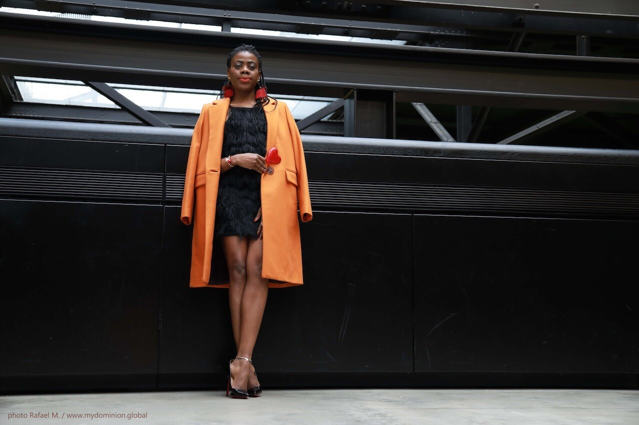 Valentine's Day Outfit: Little Black Dress X Structured Wool Coat X Pigalle Pumps