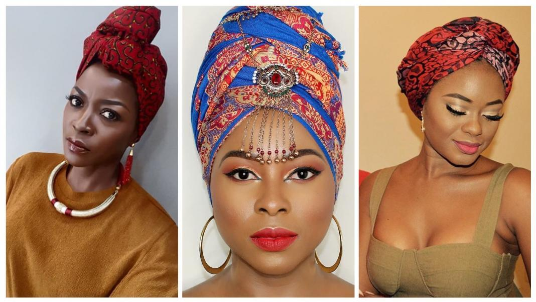 Ankara Head-wraps Are Making A Comeback.Try These Top Five Beautiful Ways To Rock The Ankara Head-Wrap Trend