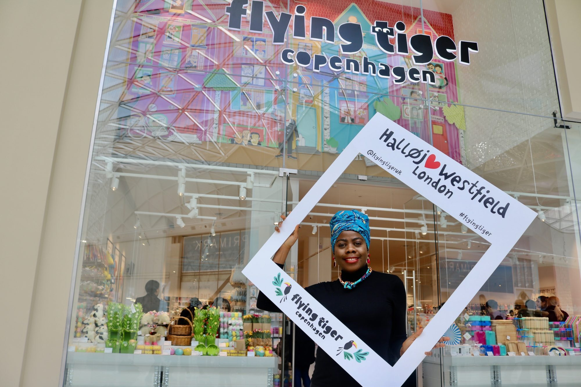 Flying Tiger Opens In W12 Shopping Center