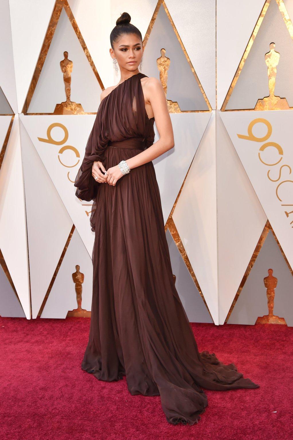 How Black Women In Hollywood Shut Down Oscars Red-Carpet 2018