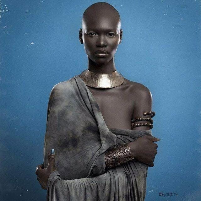 Cameroonian top model Marie Graobe