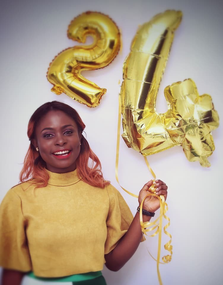 Top Cameroonian Celebrity Stylist Divine Polyvalant Heartwarming Birthday Message