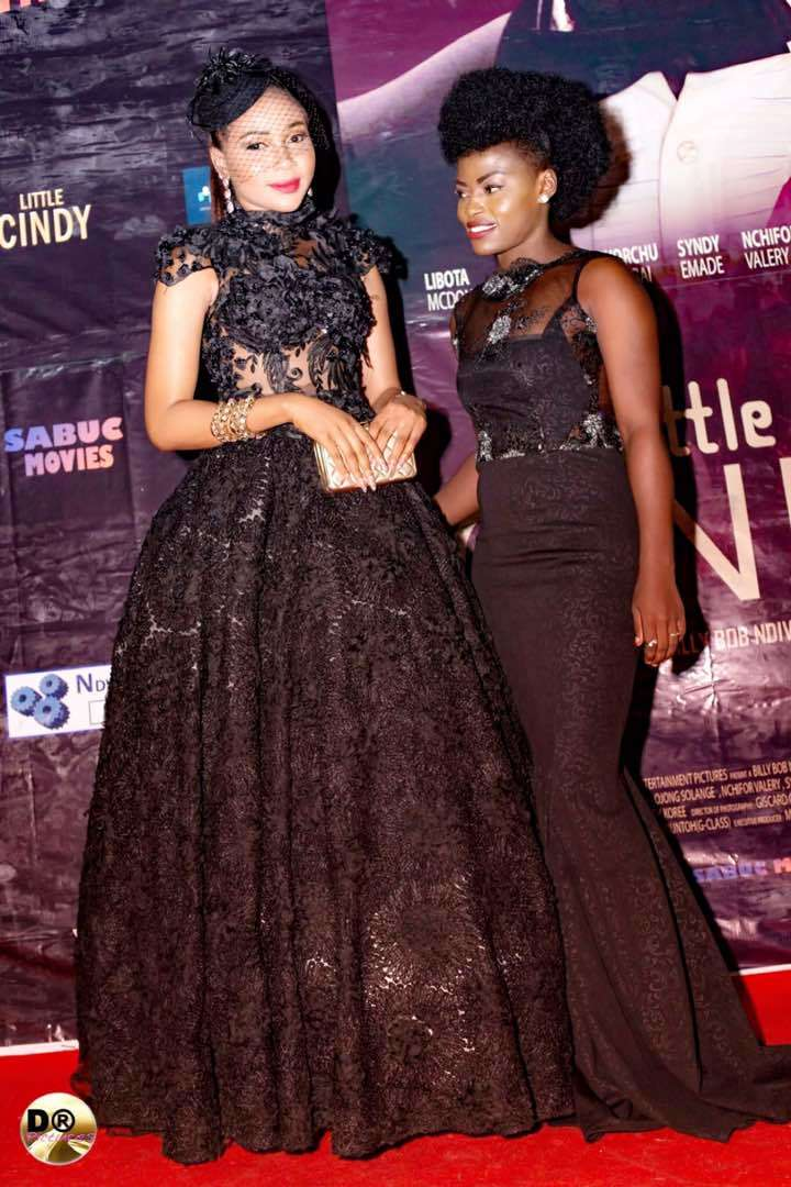 Hot Cameroonian Actress Syndy Emade