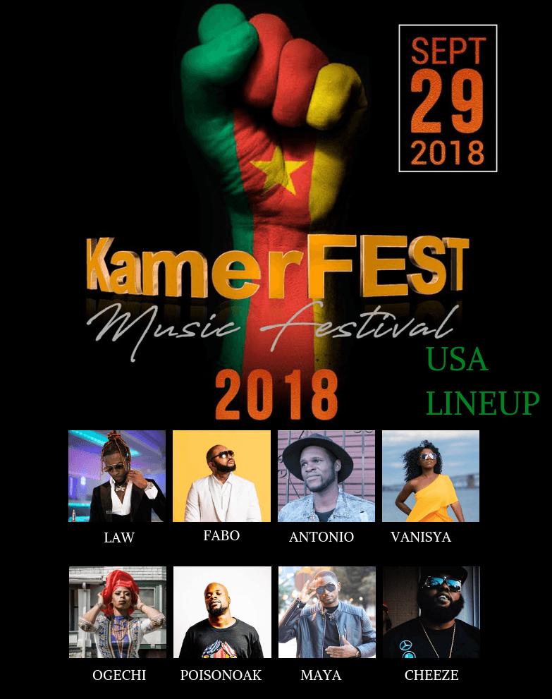 KamerFest Music USA Lineup