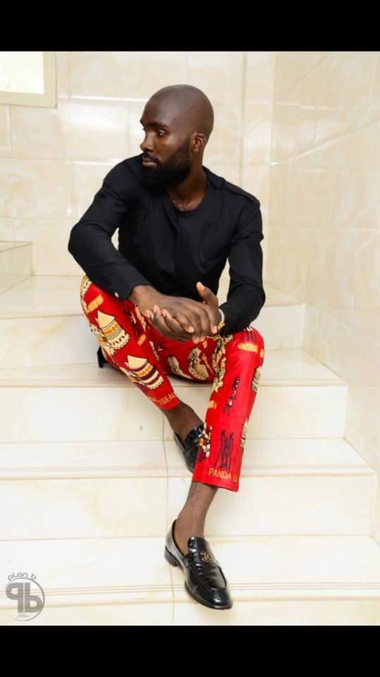 African Print Chinos- Mammypi FashionTV