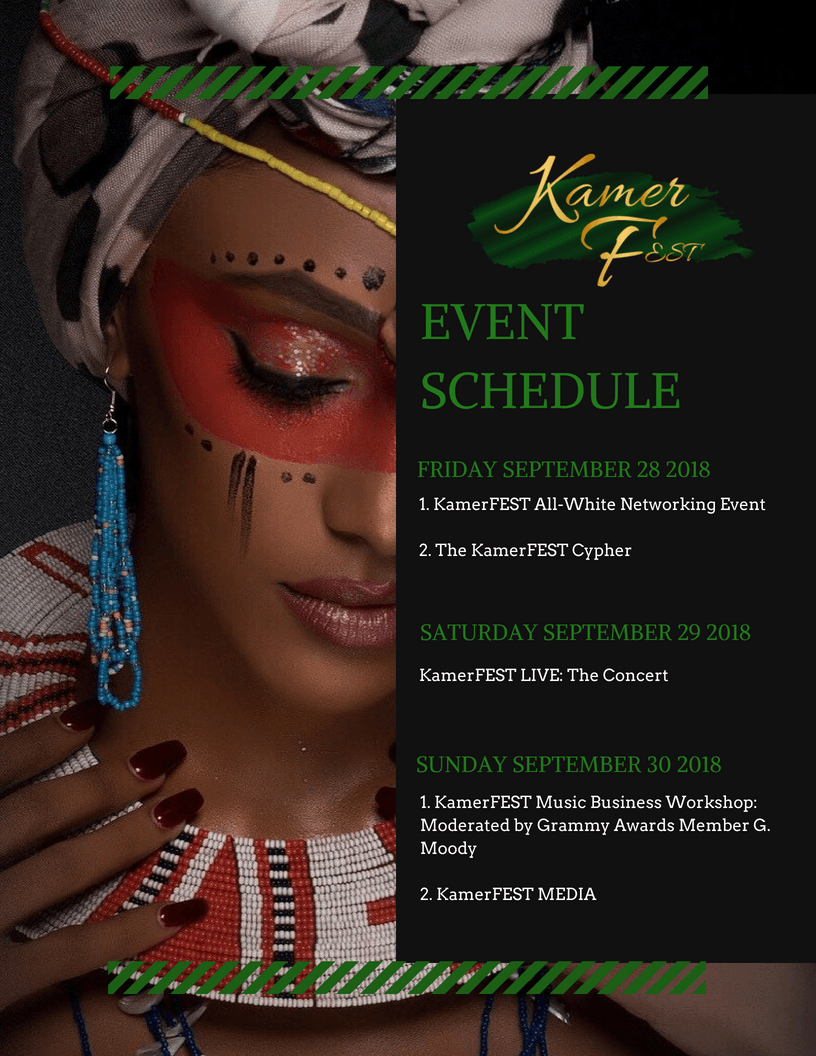 KamerFest Music Event Schedule