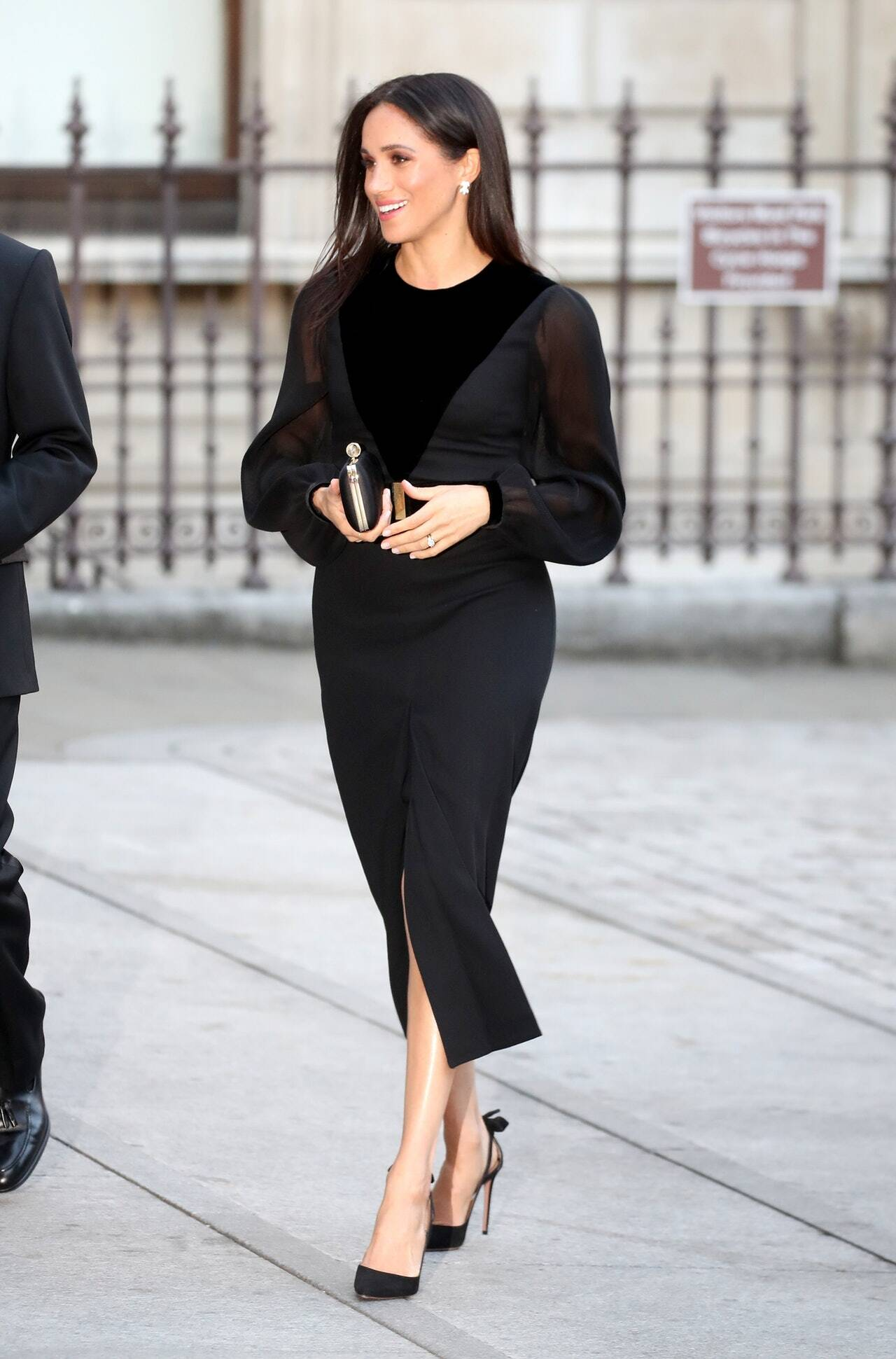 Complete Black Statement Dress