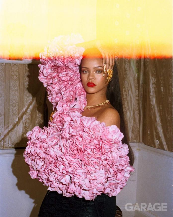 Rihanna photographed for Garage Magazine by Deana Lawson
