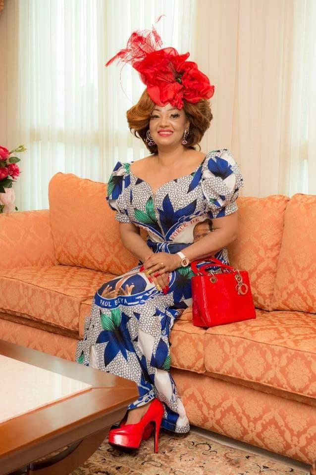 Chantal Biya rocks Dior Purse
