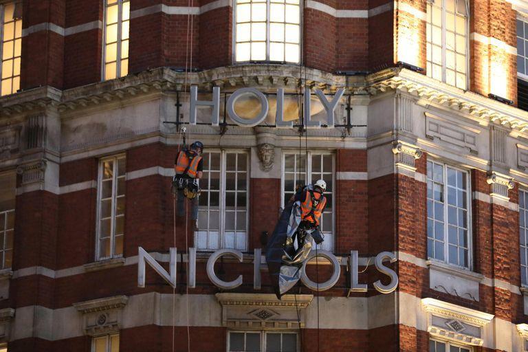 Harvey Nichols is now Holly Nichols