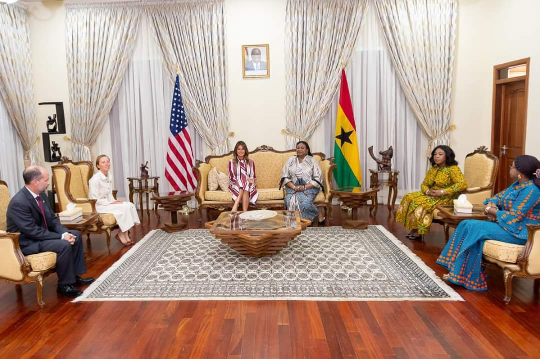 Tea with the First lady in Africa