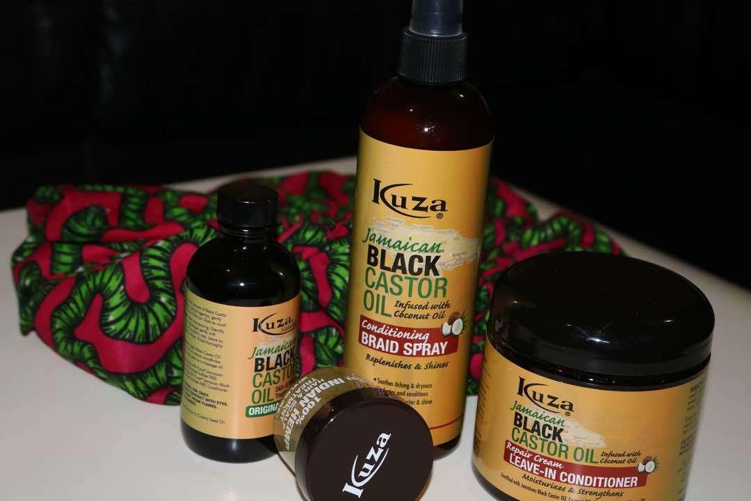 Glam Africa Beauty Box KUZA Hair Products