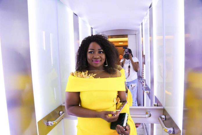 Margo's Mode Ladies Yellow Evening Dress