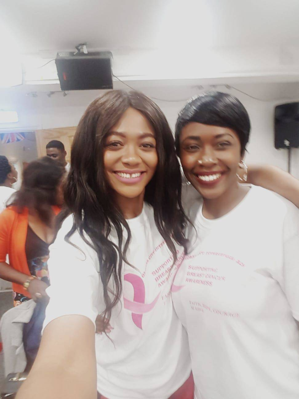 Xceptional Ladies serving for breast cancer awareness