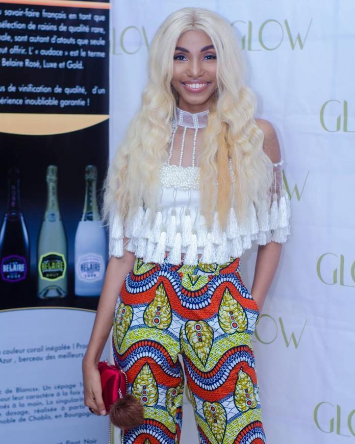 Valerie Ayena Platinum Blonde Wig