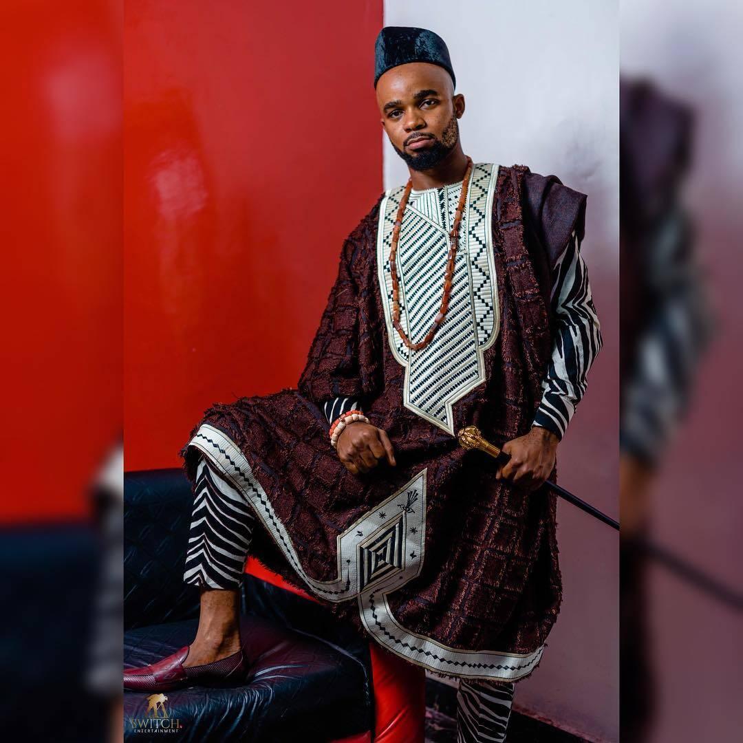 Latest Agbada StylesBy Kingsley Prince Noni