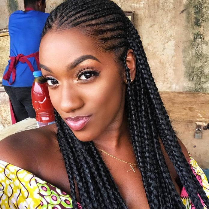 Kamala Eyango Cornrow Hair style