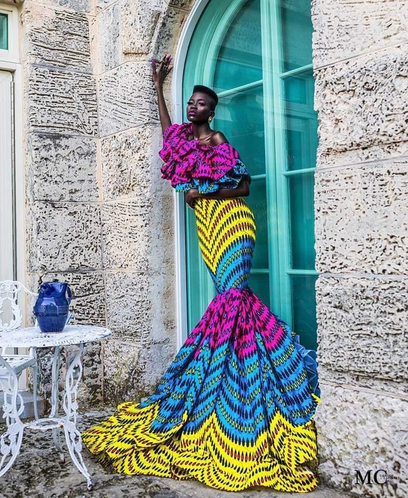 Bold Fashion Statement African Print Dress
