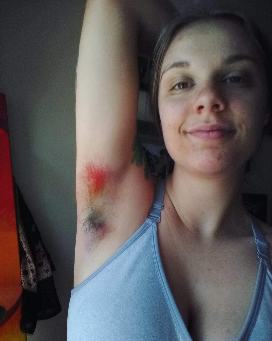 Rainbow armpit