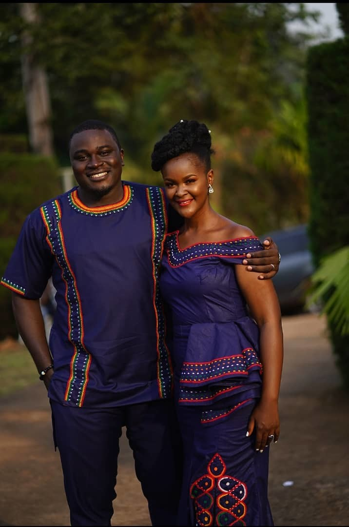 Latest African Traditional Wedding fashion outfits including the Toghu Print
