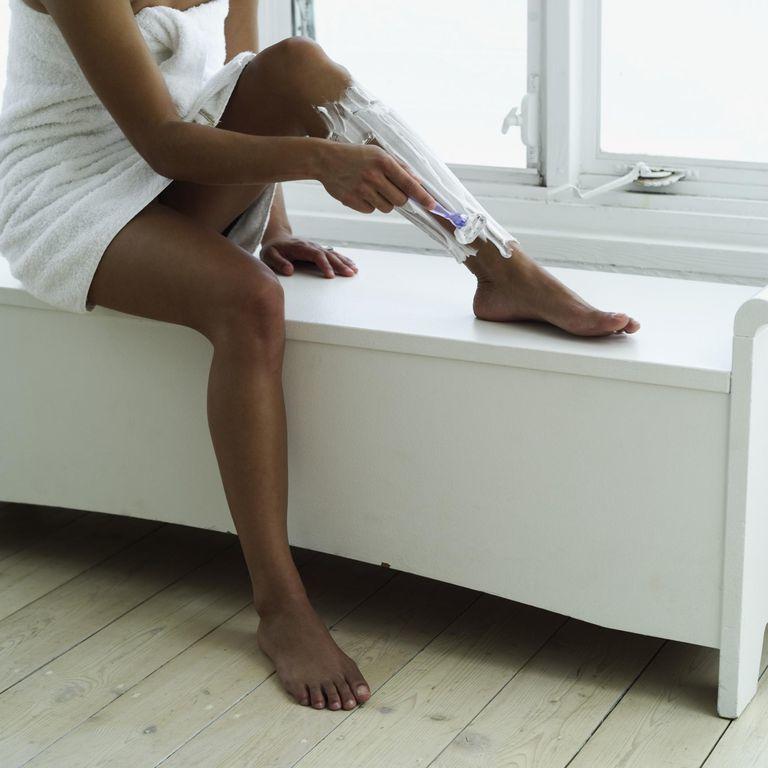 Shaving Legs