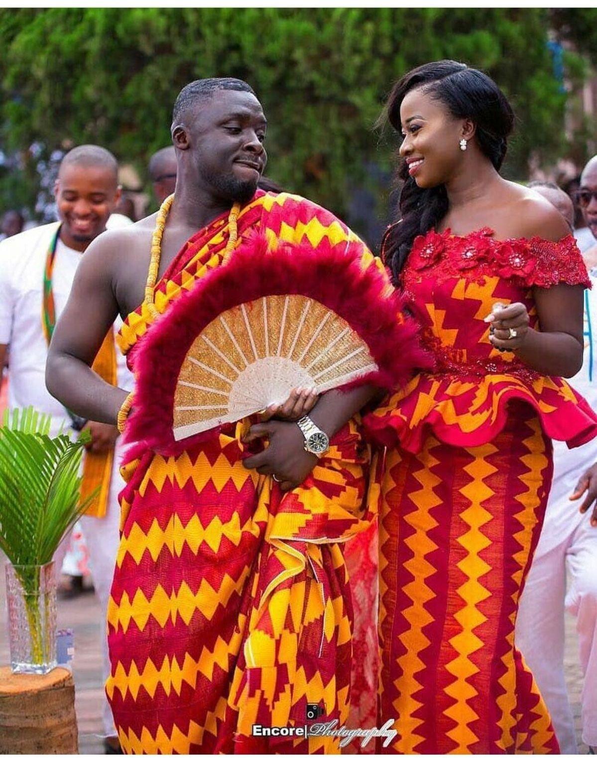 Kintenge Wedding Styles