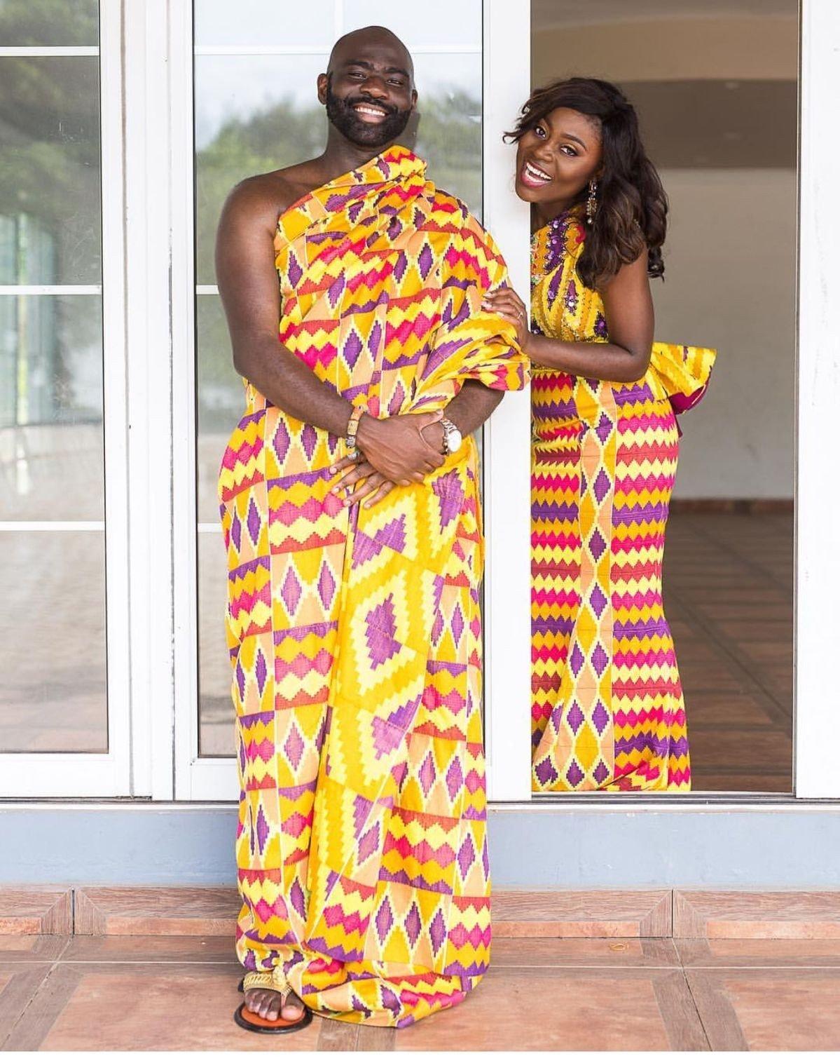 Kitenge Wedding Styles