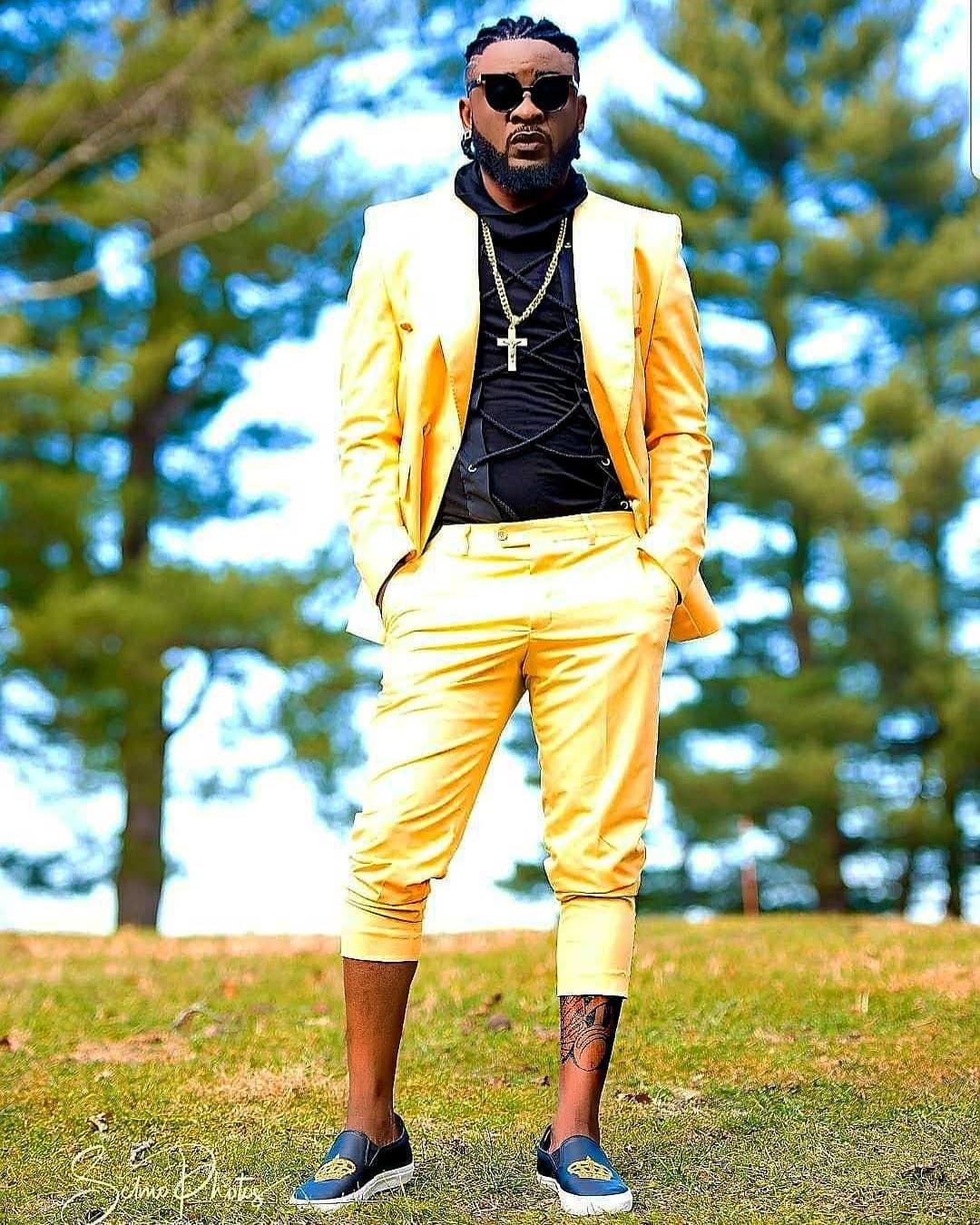 African Celebrities including Terence Dexter