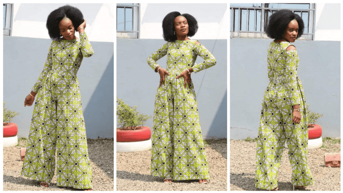 Latest African Print Jumpsuits
