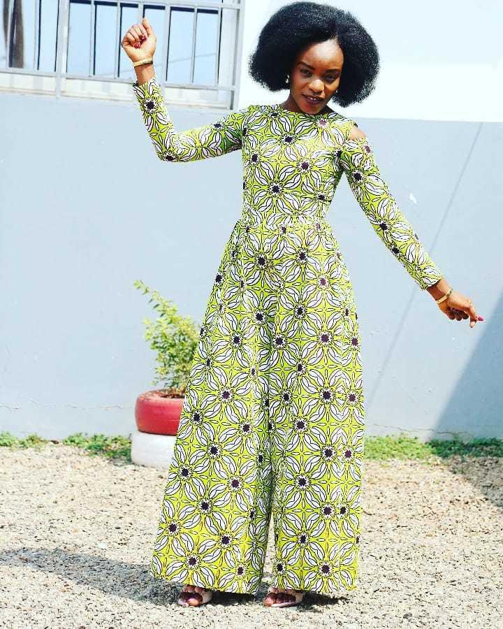 Latest African Print stylish Jumpsuit