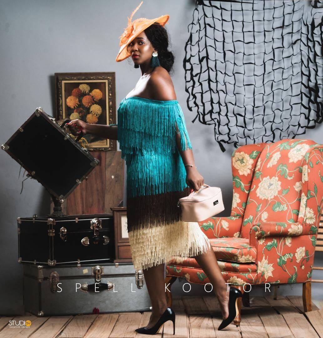 Spell Louma of Spell Kootor Drops Fringe Dresses for women